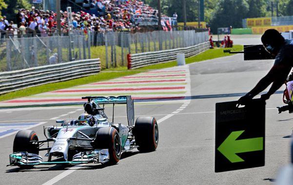 Dominador. El británico Lewis Hamilton estableció el mejor tiempo