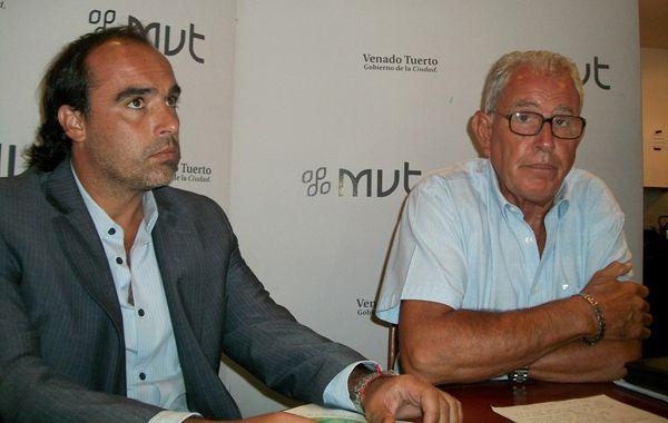 Juan Leguizamón y Lorenzo Pérez
