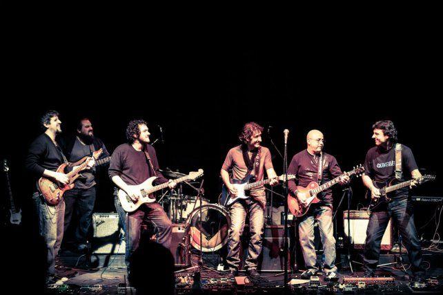 Los mejores guitarristas tocan hoy en el Anfiteatro