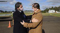 En Concordia, Gustavo Bordet y Santiago Cafiero firmaron convenios y contratos de obras. Llegaron los ministros Wado De Pedro y Gabriel Katopodis