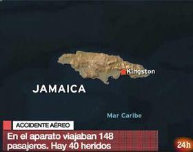 Se despistó un vuelo de American Airlines y hubo 40 lesionados