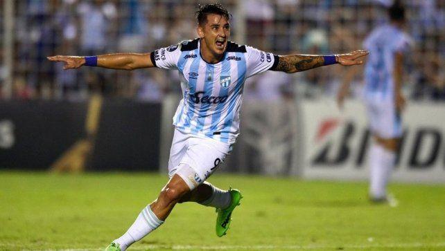 El delantero de Atlético Tucumán tuvo un muy buen torneo en el Decano.