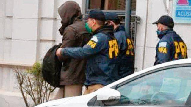 Detenido. El abogado y ex funcionario de Seguridad Agustín Andereggen.