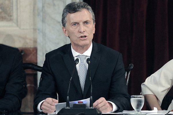 Macri abre el período de sesiones ordinarias del Congreso.