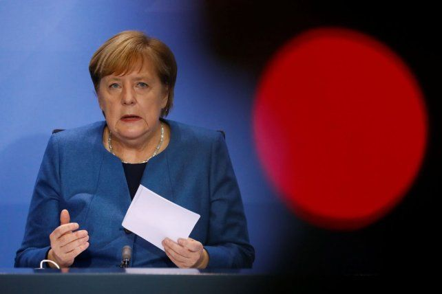 MEDIDAS. La canciller alemana Angela Merkel.