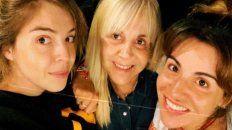 Inseparables. Dalma, Claudia Villafañe y Gianinna siguieron de cerca la emisión de MasterChef y festejaron.