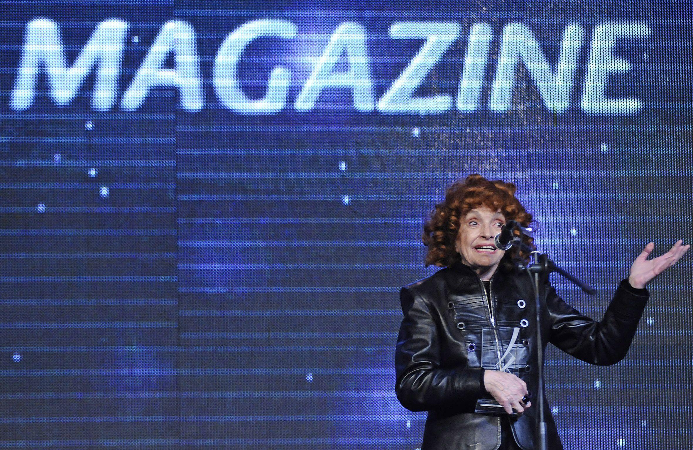 Última visita. Cipe Lincovsky estuvo en Rosario en 2010 cuando fue distinguida con un premio Magazine.
