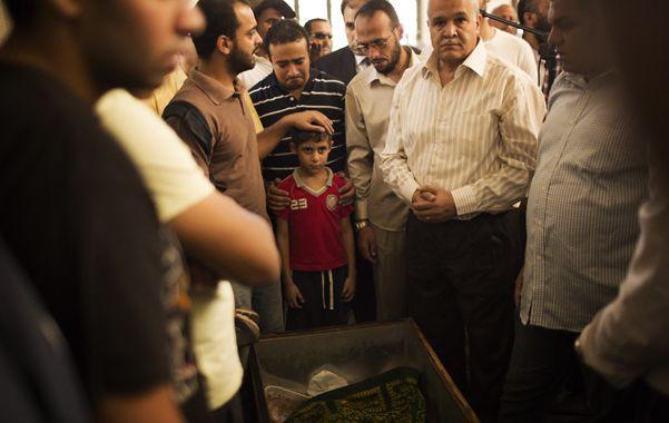 Duelo. El funeral de Ammar Badie