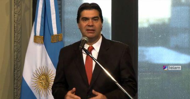El jefe de Gabinete habló en su habitual conferencia de prensa desde Casa Rosada.