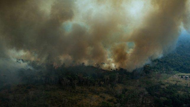 Arde el Amazonas. Es un ecosistema estratégico para el mundo.