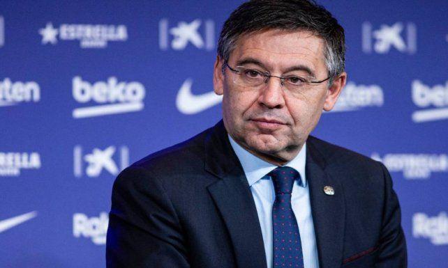 Detenido. El expresidente de Barcelona