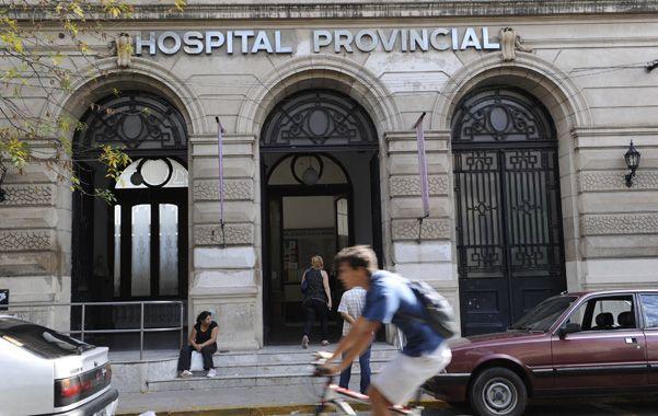 El hombre se encuentra estable en el Hospital Provincial. (Foto: C. Mutti Lovera)