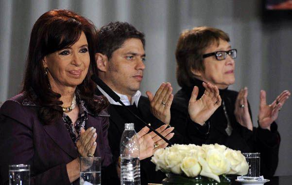 Cristina. Vamos a medir lo que ven los argentinos desde Buenos Aires a La Quiaca