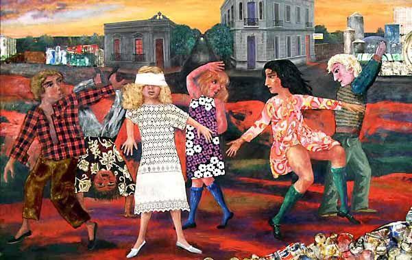 Arte basura. Antonio Berni y su Gallina ciega (1973).