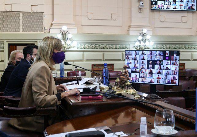 La Cámara alta también trató los vetos del jefe de la Casa Gris