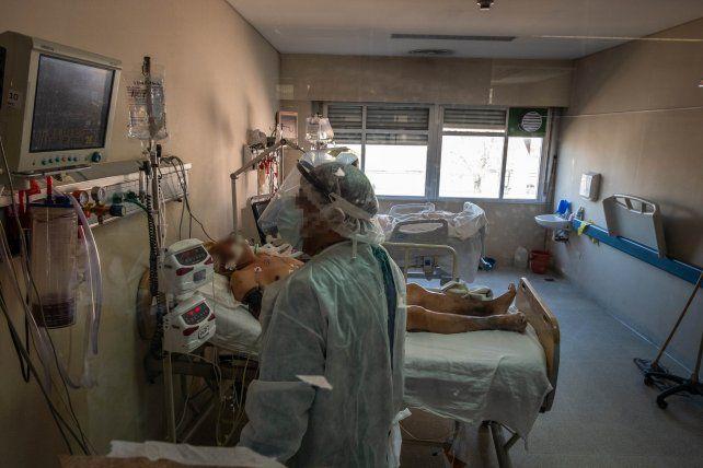 Rosario registró 11 muertes por coronavirus en los dos primeros días de la semana