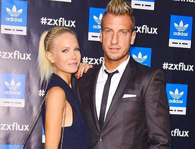 Maxi junto a la sueca Daniela Christiansson.