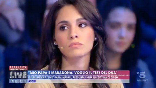 Magalí, la supuesta sexta hija de Maradona habló por primera vez y contó su increíble historia