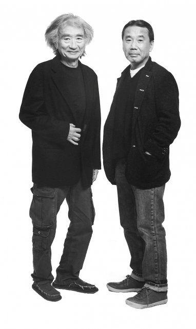 Seiji Ozawa y Haruki Murakami