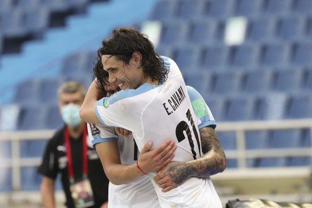 Delantero letal. Edinson Cavani asumirá la responsabilidad goleadora ante la ausencia de Luis Suárez.
