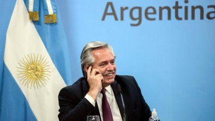 Este jueves Alberto Fernández vuelve a sus actividades habituales.