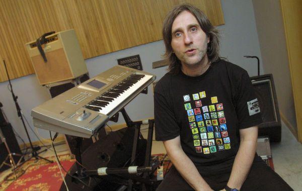 Un histórico. Cardone formó parte de la banda de Spinetta durante 22 años.