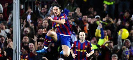 Barcelona es puntero: un gol de Ibrahimovic sentenció el derby español