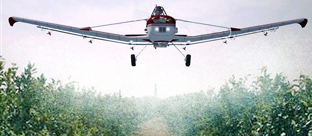El proyecto pretende minimizar el impacto de la aspersión de agroquímicos cerca del poblado.